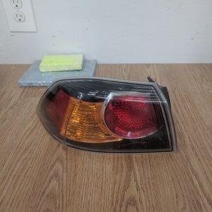 MITSUBISHI LANCER TAIL LIGHT REAR LEFT DRIVER
